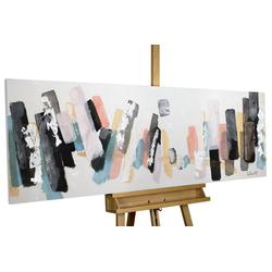 KUNSTLOFT Gemälde Individualismus, handgemaltes Bild auf Leinwand