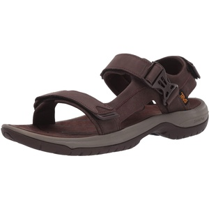 Teva Herren Tanway Leather Sandalen, Braun (Chocolate Brown Cobr), 43 EU