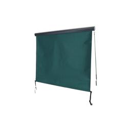 MCW Senkrechtmarkise MCW-F42 UV-Schutz 50, Windklasse 2 grün 180 cm x 250 cm