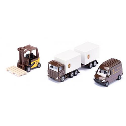 SIKU Spielwaren UPS Logistik Set 6324