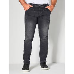 Jeans Men Plus Black stone