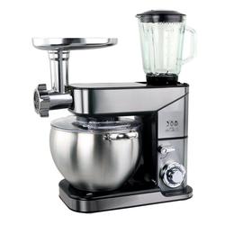 ROYALTRONIC Küchenmaschine ROYALTRONIC Küchenmaschine 10 Liter 3in1 max. 2500 W Silber, 10,00 l Schüssel