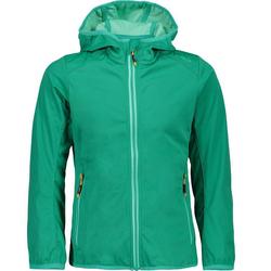 CAMPAGNOLO Softshelljacke Campagnolo Girls Softshell-Jacke winddichte Outdoor-Jacke für Kinder Freizeit-Jacke Grün