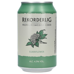 Rekorderlig Elderflower 4,5% 24 x 0,33 ltr.