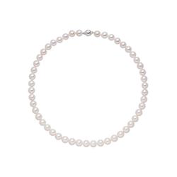JOBO Perlenkette, Akoya-Zuchtperlen mit 925 Silber