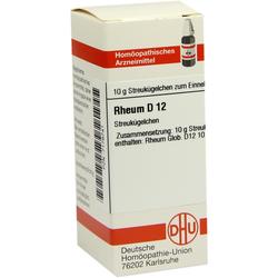 Rheum D 12 Globuli