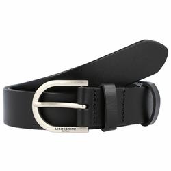 Liebeskind Gürtel Leder black 80 cm