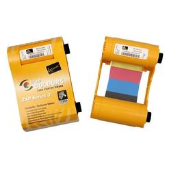 True Colours ix Series Farbband für ZXP Serie 3, Weiß Monochrome, ca. 850 Drucke/Rolle