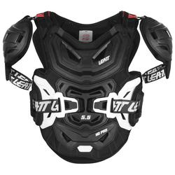 Leatt Chest Protektor 5.5 Pro HD Brustprotektor, schwarz, Größe S M L XL