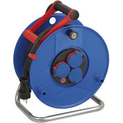 Kabeltrommel Garant IP44, Durchmesser 290mm, Spezialkunststoff,3 x 230V Steckdose, 25m RN Kabel