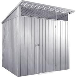Tepro Metallgerätehaus Palladium 8 x 6, silber