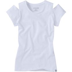 Shirt, Mädchen - weiß
