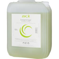 ZACK Essigreiniger, Für alle wasser- & säurebeständigen Flächen, 10 l - Kanister
