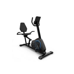 Capital Sports Heimtrainer Evo Air Pro Fahrrad-Heimtrainer 12kg Schwungmasse PulseControl schwarz
