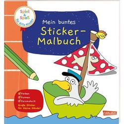 CARLSEN Mein buntes Sticker-Malbuch