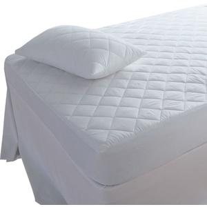 Highliving Matratze, Polyester, Baumwolle, weiß, Single (90 × 190 cm)