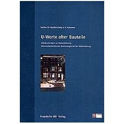 U-Werte alter Bauteile - Buch