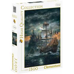 Clementoni® Puzzle Das Piratenschiff, 1500 Puzzleteile