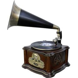 Soundmaster NR917 Plattenspieler Braun, Gold, Schwarz