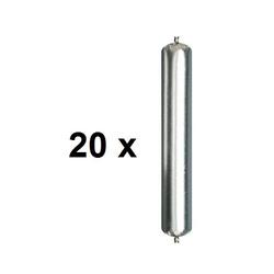 20 x Ramsauer 640 Dicht Kleber weiß 1K Hybrid Klebstoff 600ml Beutel
