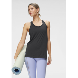 Nike Yogatop Yoga Women's Tank schwarz Damen Trägertops Tops