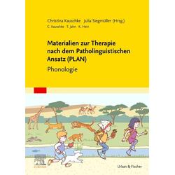 Materialien zur Therapie nach dem Patholinguistischen Ansatz (PLAN): Taschenbuch von Julia Siegmüller