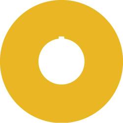 RAFI 5.76.204.107/0400 Bezeichnungsschild (Ø) 60mm NOT-HALT,EMERGENCY STOP,ARRET D´URGENCE,EMERGEN