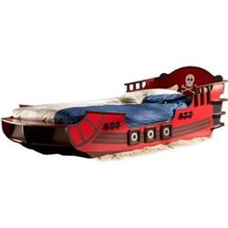 Piratenbett Huck MDF Holz 90*200 cm