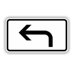 TRIZERATOP Werkzeug Verkehrszeichen Verkehrsschild Zusatzzeichen 330x6