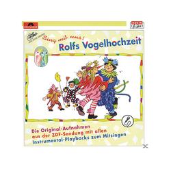 Rolf Zuckowski - Rolfs Vogelhochzeit Sing mit uns (CD)