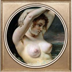queence Acrylglasbild Aktzeichnung I