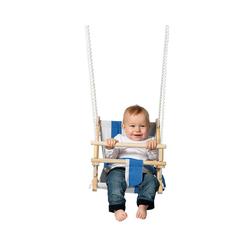 TWIPSOLINO Einzelschaukel TWIPSOLINO Stoff-Babyschaukel, blau/weiß gestreift