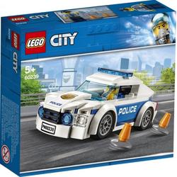 LEGO® Puzzle LEGO® City 60239 Polizei Patrol Car, Puzzleteile