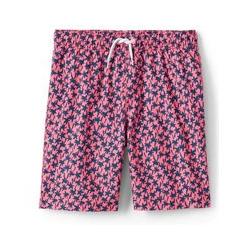 Badeshorts mit Muster - 152/164 - Pink