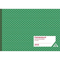 RNK Fahrtenbuch für LKW DIN A5 quer
