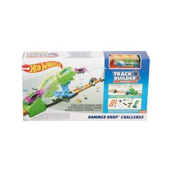 Mattel® Spielzeug-Auto Mattel FLL01 - Hot Wheels - Track Builder - Piste für Autos, Hammer Drop Challange