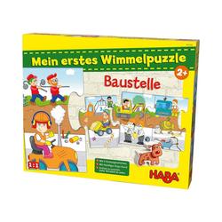 Haba Puzzle Mein erstes Wimmelpuzzle - Baustelle, Puzzleteile