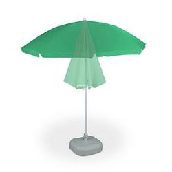 relaxdays Sonnenschirm rund grün