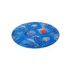 Kinderteppich Kinder und Spielteppich Disney Cars Rund, Snapstyle, Rund, Höhe 4 mm 100 cm x 100 cm x 4 mm