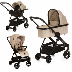 iCoo Kombi-Kinderwagen Acrobat XL Plus Trio Set Sahara, ; Kinderwagen