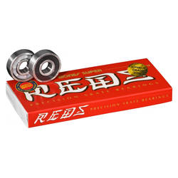 Bones® Super REDS® Skateboard Bearings 8er Pack