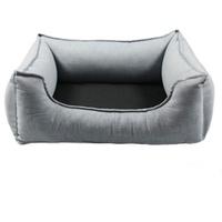 Wolters Dog Lounge Noble Stripes denim/granit 60 x 45 cm