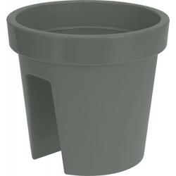 Pflanztopf BALCONY grün(DH 28x25 cm)