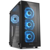 Sharkoon TG5 Tower-Gehäuse schwarz/blau