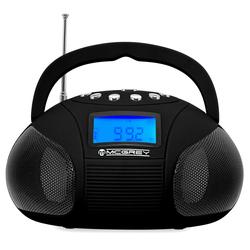 McGrey Boombox MC-50BT-BK Bluetooth Lautsprecher mit USB/SD Slots und FM-Radio, schwarz
