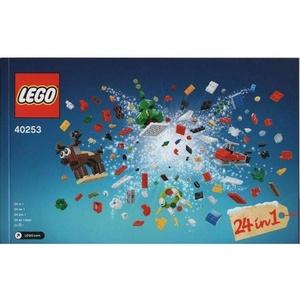 LEGO 40253 – Weihnachtlicher Bauspaß