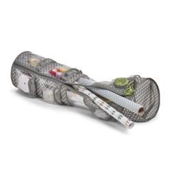 Zeller Geschenkpapier-Organizer, Aufbewahrungstasche für Geschenkpapierrollen und Bändern, Maße: Ø22 x 80 cm