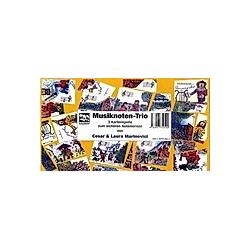 Musiknoten-Trio (Kartenspiele)