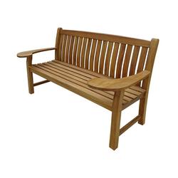 Dehner Gartentisch Salma, 3-Sitzer, 170 x 80 x 95 cm, FSC® Holz