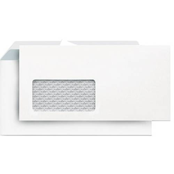 Briefumschlag DIN lang 500 St./Pack. Weiß LS2121